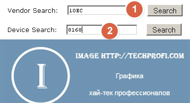 Поиск на сайте pcidatabase