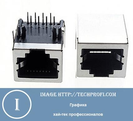 Интерфейс подключения RJ45