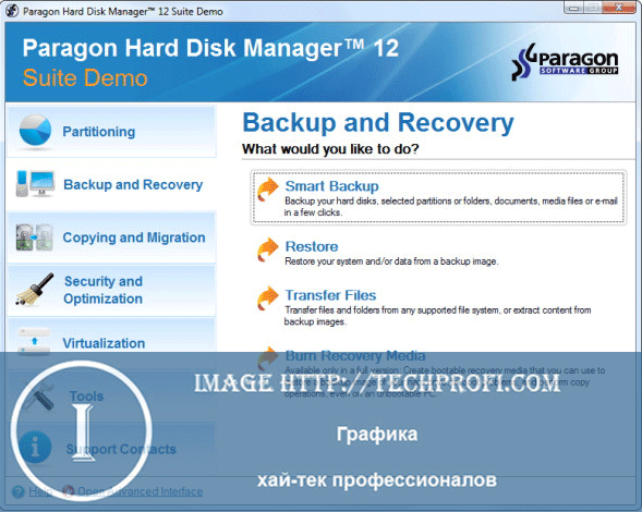 Paragon Disk Manager
