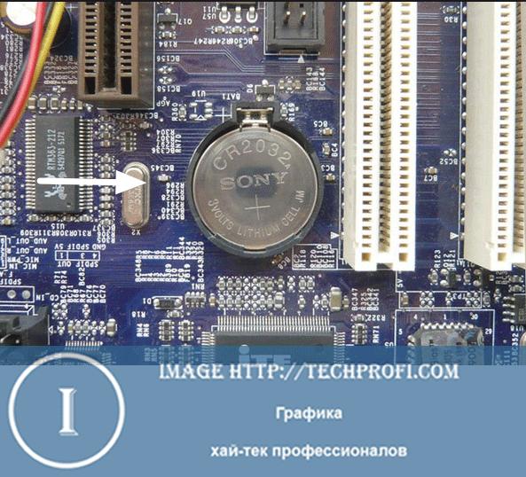 Батарейка BIOS
