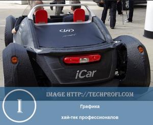 Автомобиль, сделанный на 3d принтере